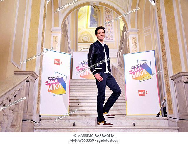 mika, stasera casamika, italian tv show, november 2016