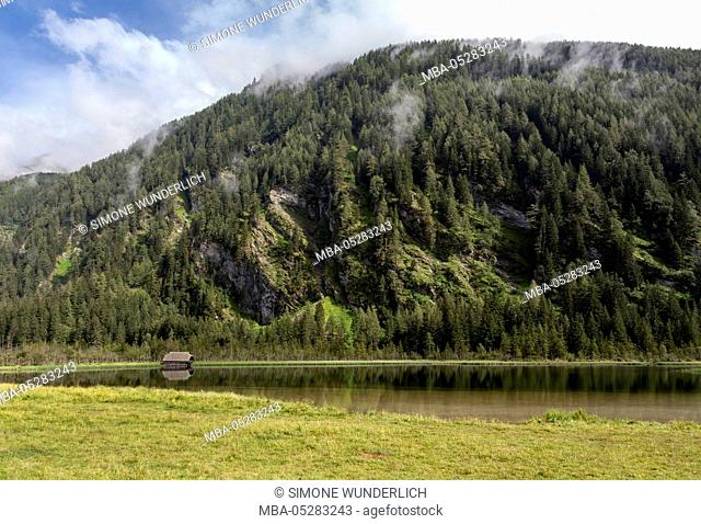 Small lake in the Seebachtal, Hohe Tauern