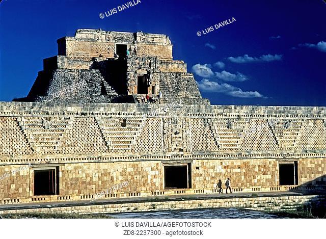 uxmal maya ruins. mexico