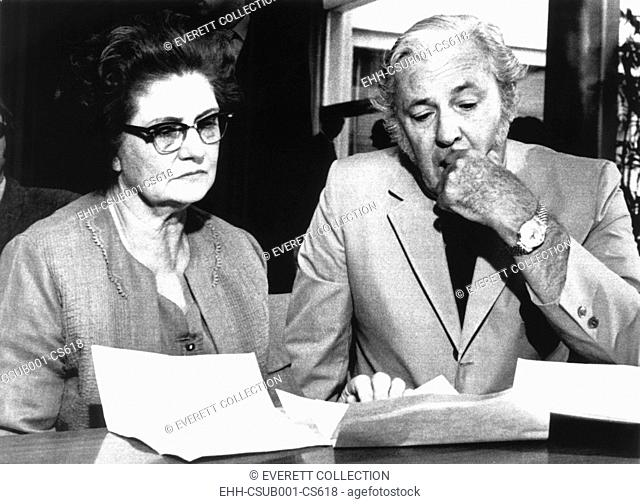 Winnie Ruth Judd, Phoenix Trunk Murderess of the 1930s, and her attorney, Melvin Belli. Aug. 8, 1969. She escaped from an Arizona mental hospital in 1963 and...