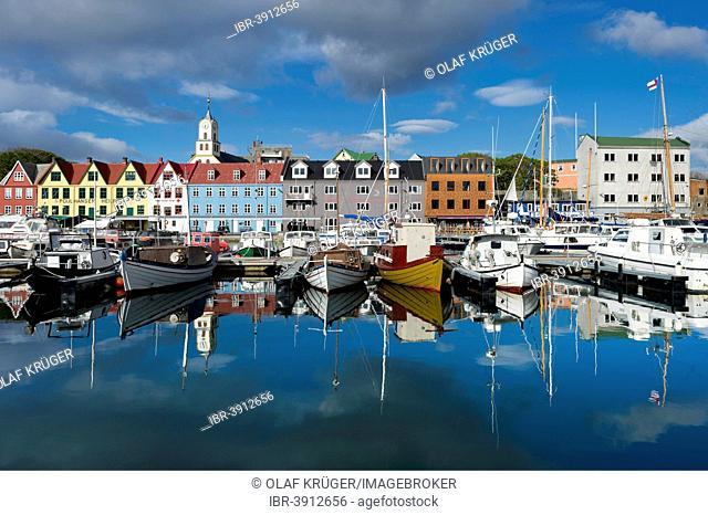 Harbour, Tórshavn, Streymoy, Faroe Islands, Denmark