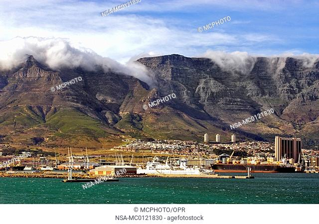 Cape Town from Seaside