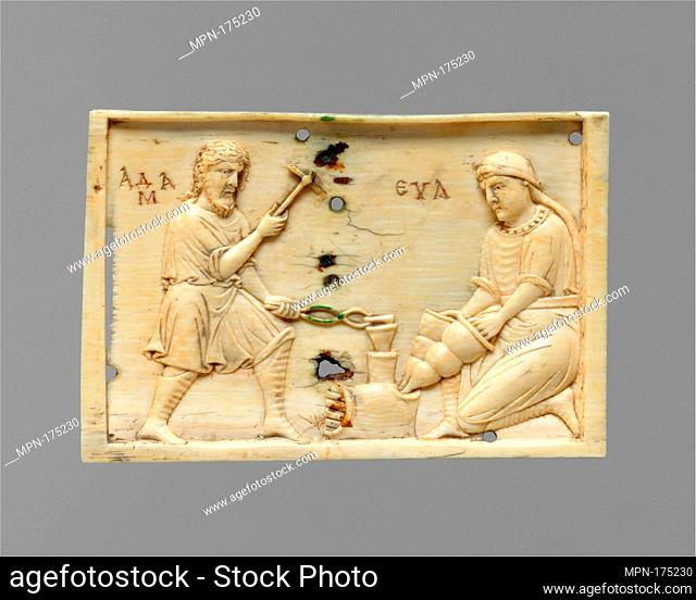 Panels from an Ivory Casket with the Story of Adam and Eve. Date: 10th or 11th century; Geography: Made in Constantinople; Culture: Byzantine; Medium: Ivory