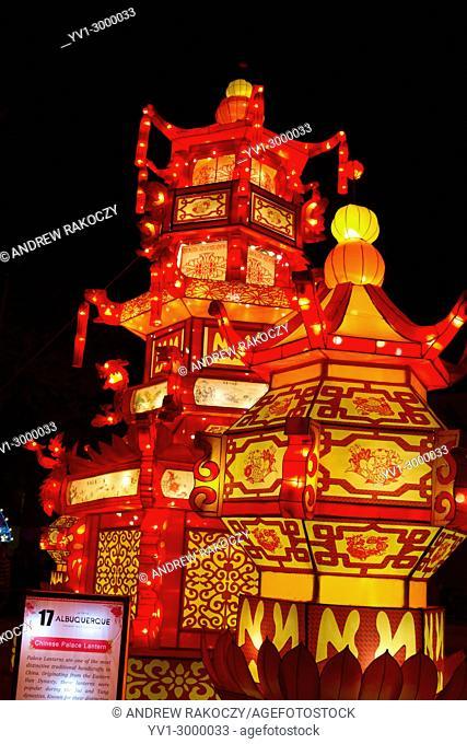 Chinese Lantern Festival to celebrate the New Year Chinese Palace Lantern