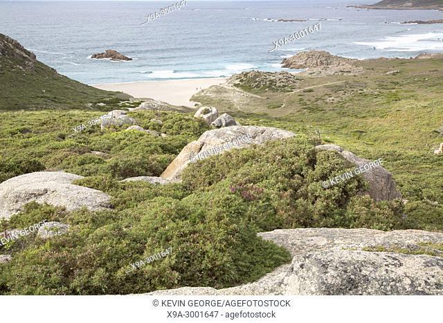 Forcados Point Beach; Costa de la Muerte; Galicia; Spain