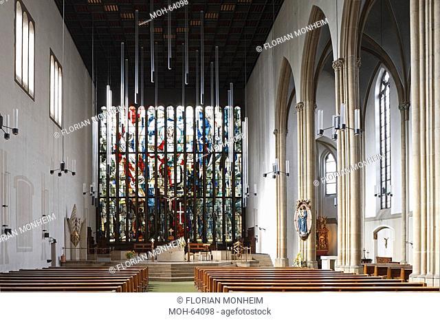 Duisburg, St. Josef, 1947-1949 von Dominikus Böhm wiederaufgebaut