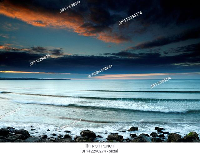 Strandhill beach on the Wild Atlantic Way coastal route; County Sligo, Ireland