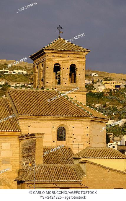 Iglesia del Salvador, Granada, Andalusia, Spain