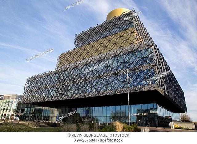 Library of Birmingham; England; UK