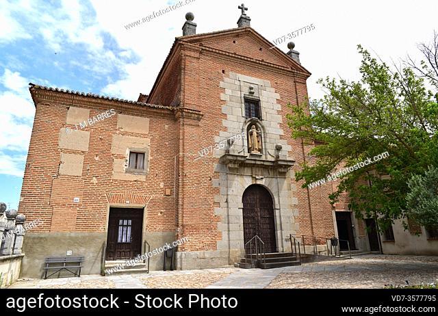 Peñaranda de Bracamonte, Madres Carmelitas Convent (17th century). Salamanca province, Castilla y Leon, Spain