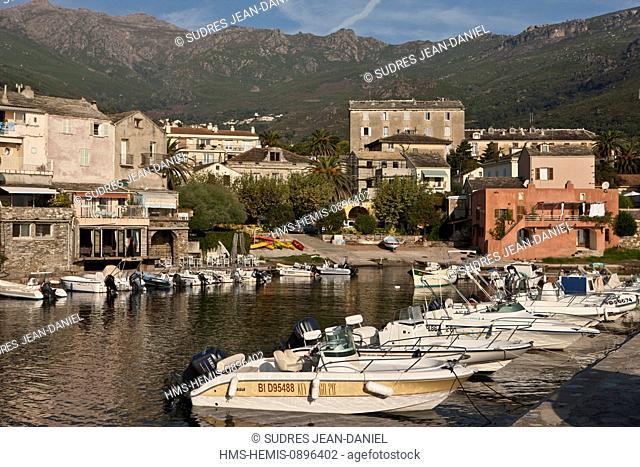 France, Haute Corse, Cap Corse, Bastia, the fishing harbour
