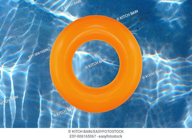 A close up shot of a pool tube