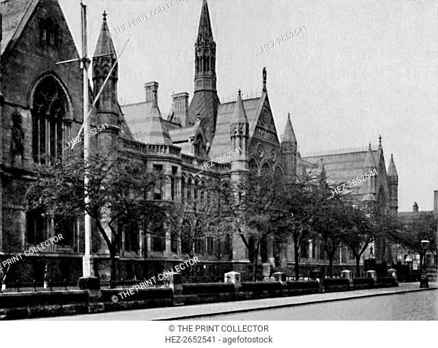 'University College, Nottingham', 1904. University College Nottingham was founded in 1877. From Social England, Volume VI, edited by H.D. Traill, D.C