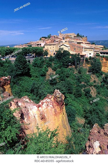 Roussillon, Vaucluse, Provence, Southern France