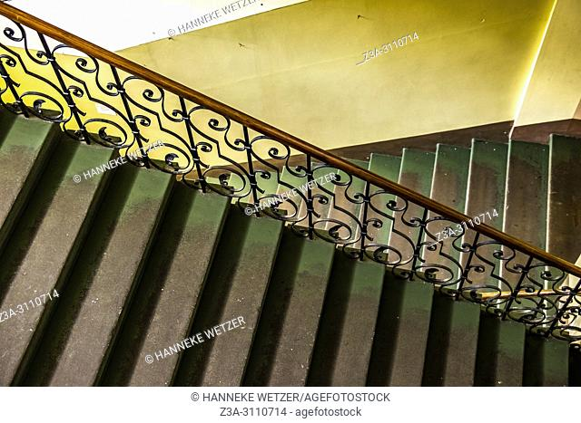 Old stairs in Riga, Latvia, Baltic States