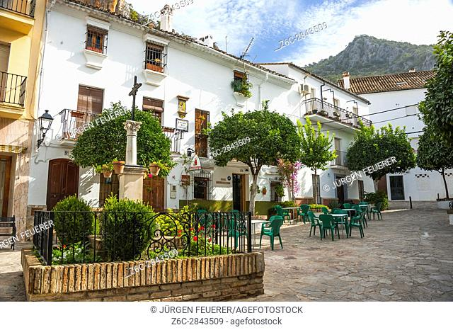 Ubrique, province of Cádiz, largest of the White Towns, Pueblos Blancos of Andalusia, Spain