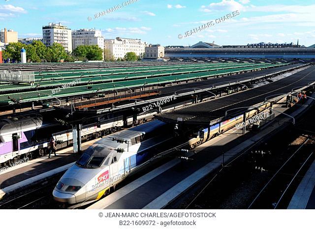 Paris-Est, Gare de l'Est railway station, Paris, France