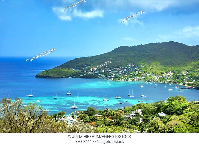 The Port Elizabeth harbor in Bequia, St. Vincent and the Grenadines
