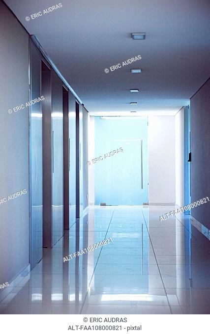 Deserted corridor