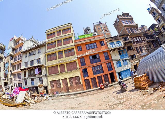 Thamel Tourist Area, Kathmandu, Nepal, Asia