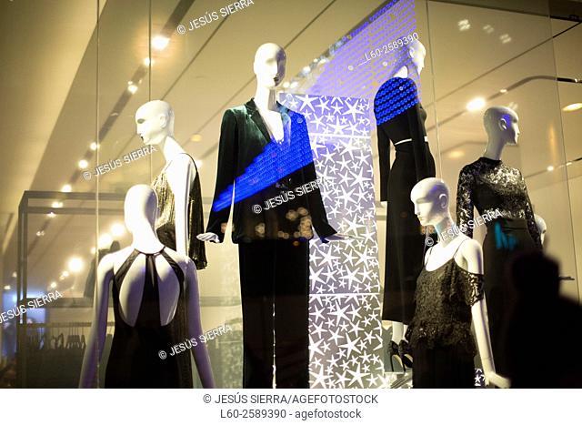 Shopping in Madrid, Spain