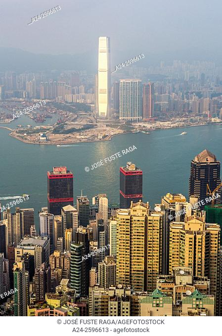Hong Kong City, Victoria Harbour, ICC Tower
