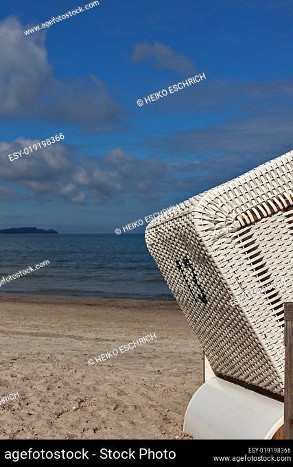 Strandkorm an der Ostsee