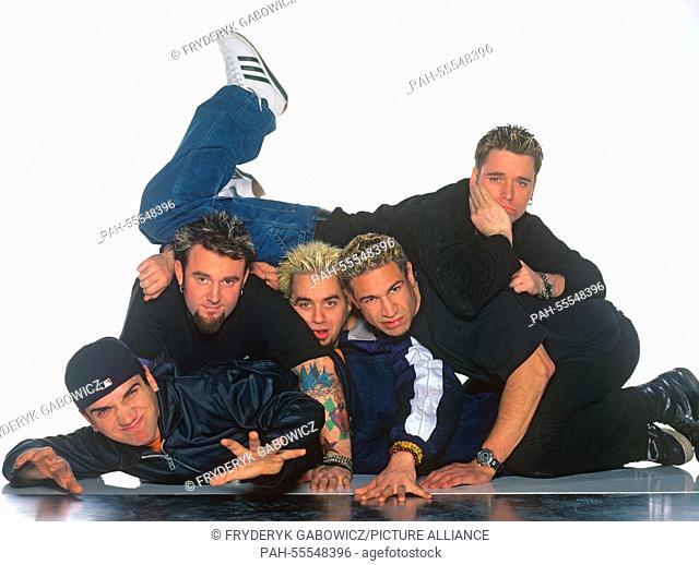 Bloodhound Gang on 02.02.2000 in München / Munich. | usage worldwide. - München / Munich/Bayern/Germany