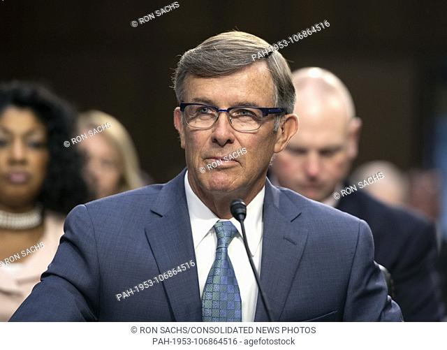 Joseph Maguire testifies before the United States Senate Select Committee on Intelligence on his nomination to be Director of the National Counterterrorism...