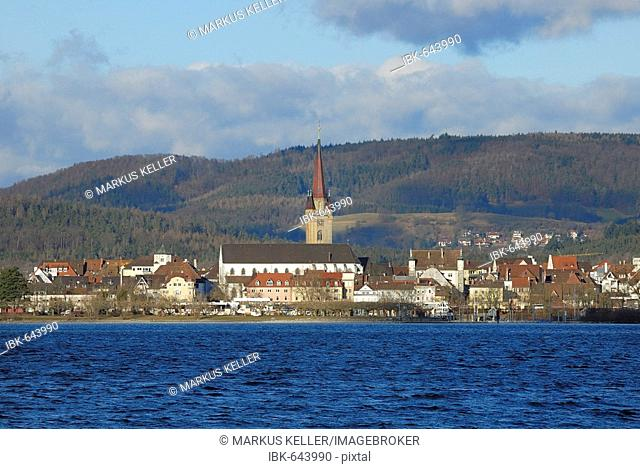 Radolfzell at the lake of constance - Konstanz district, Baden-Wuerttemberg, Germany, Europe