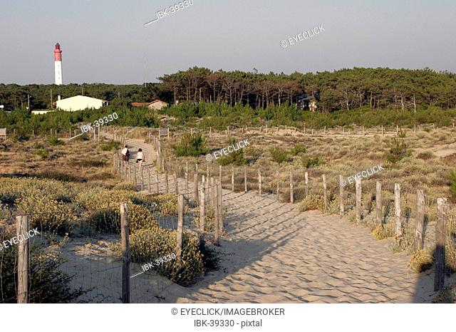 Path to the dune of Pyla France