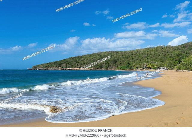 France, Guadeloupe (French West Indies), Basse Terre, Deshaies, Anse de la Perle beach