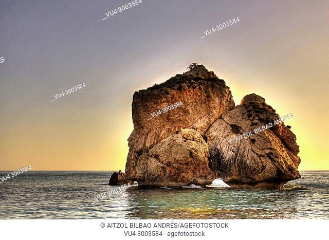 Aphrodite's mythical birthplace 'Petra tou Romiou' is an interesting geological formation of huge rocks along one of the most beautiful coastlines on the island...