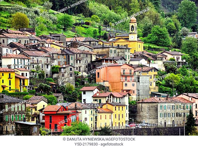 Dervio, Province of Lecco, region Lombardy, eastern shore of Lake Como, Italy