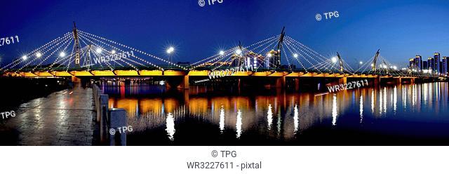 Taiyuan South Central Ring Bridge;Taiyuan;Shanxi;China