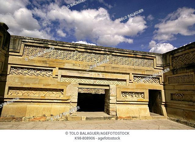 Mitla archaeological site, San Pablo Villa de Mitla. Oaxaca, Mexico