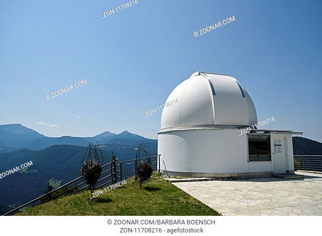 observatory Max Valier, Gummer, South Tyrol, Italy, Europe, Sternwarte Max Valier, Gummer, Suedtirol, Italien, Europa