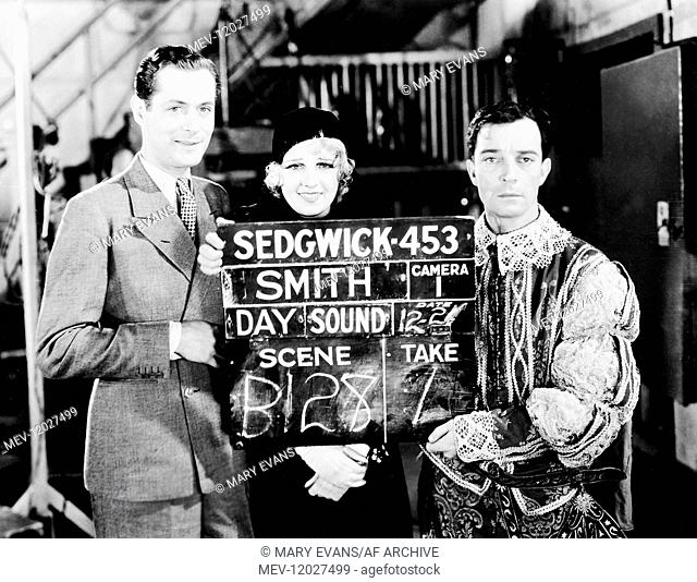 Robert Montgomery, Anita Page & Buster Keaton Characters: Larry, Elvira, Elmer Butts Film: Free And Easy (1930) Director: Edward Sedgwick 01 May 1930