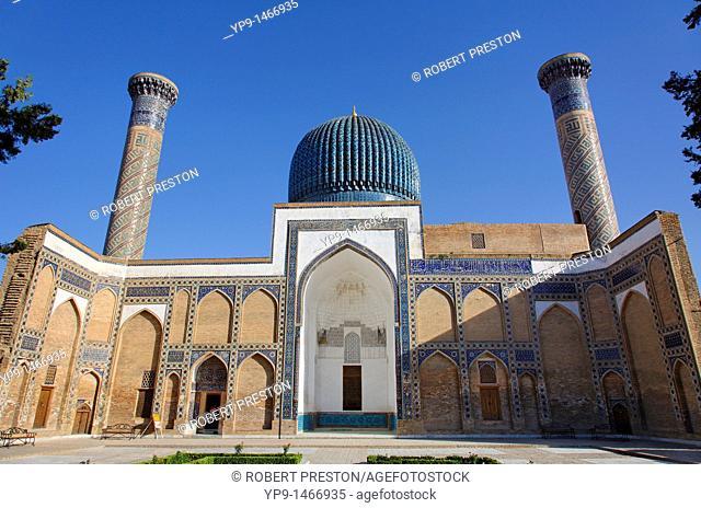 Uzbekistan - Samarkand - Guri Amir Mausoleum