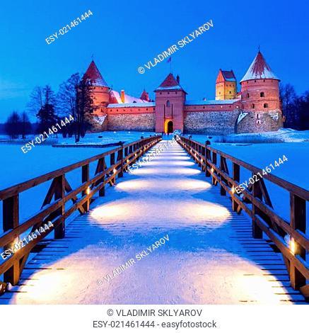 Trakai - historic city and lake resort in Lithuania