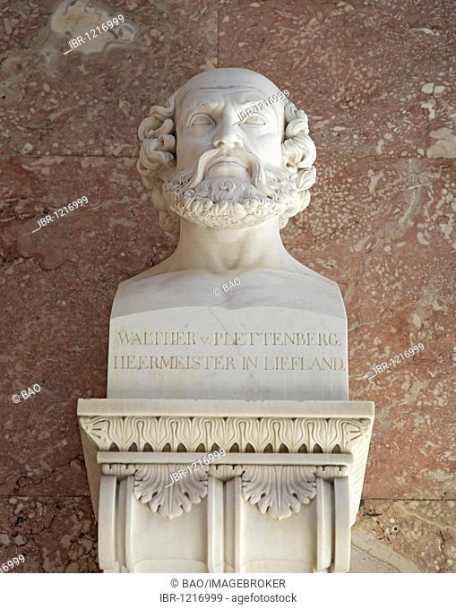 Bust of Walter von Plettenberg, German Grand Master
