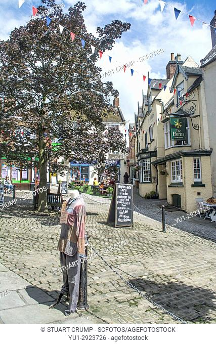 Image of Victoria Square in Ashbourne Derbyshire