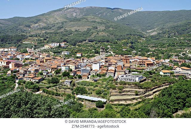 Garganta la Olla. Conjunto histórico artístico. Cáceres province, Extremadura, Spain