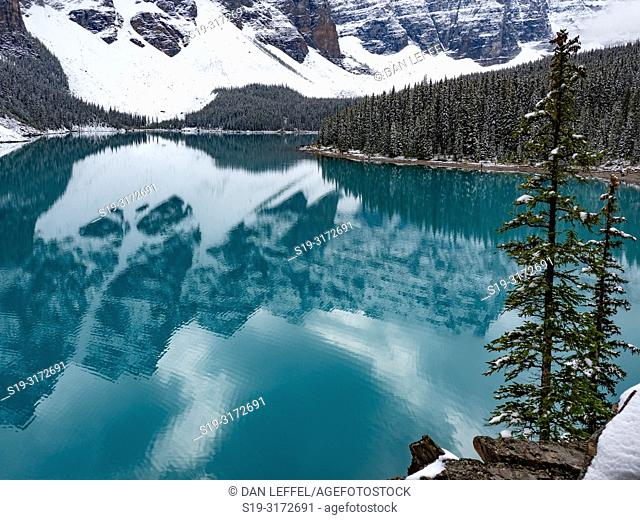 Canadian Rockies. Moraine Lake