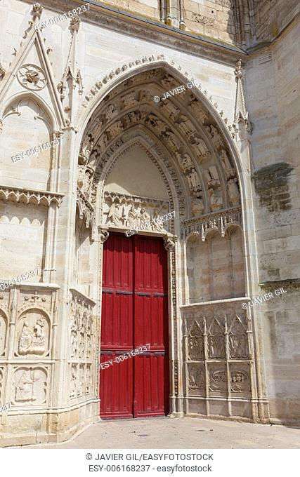 Cathedral of Auxerre, Yonne, Bourgogne, France