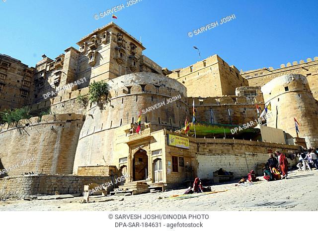 Sonar fort at Jaisalmer Rajasthan India