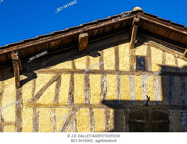 France, Nouvelle Aquitaine, Lot et Garonne, 16th Century. House at Villereal