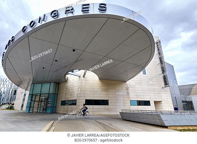 Palais des Congres, Boulevard de Champagne, Dijon, Côte d'Or, Burgundy Region, Bourgogne, France, Europe