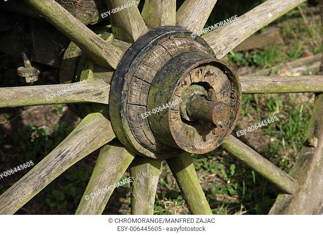 Axle of a wagon Stock Photos and Images | age fotostock