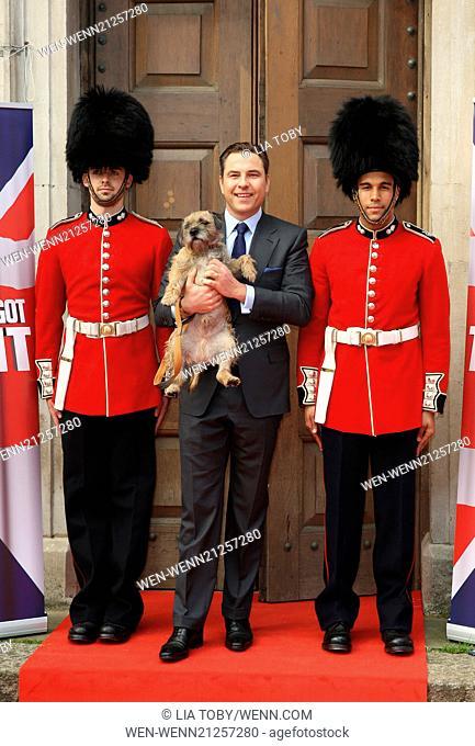 Britain's Got Talent press launch held at St Luke's Church - Arrivals Featuring: David Walliams Where: London, United Kingdom When: 09 Apr 2014 Credit: Lia...